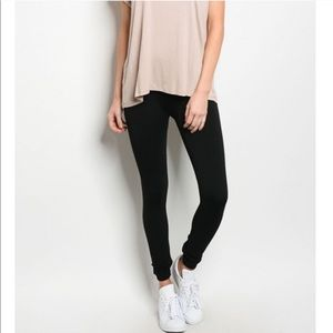 Pants - High Waisted QUALITY Thick Black Winter Leggings